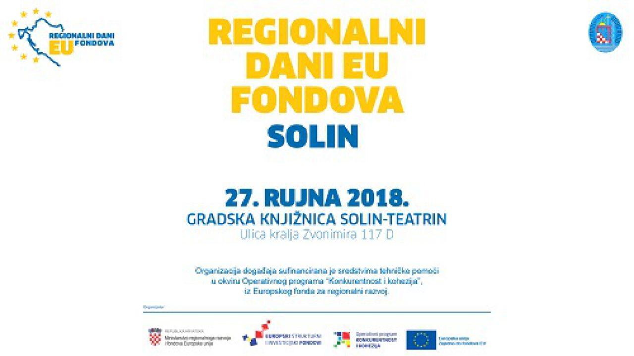 Regionalni dani EU fondova u Solinu