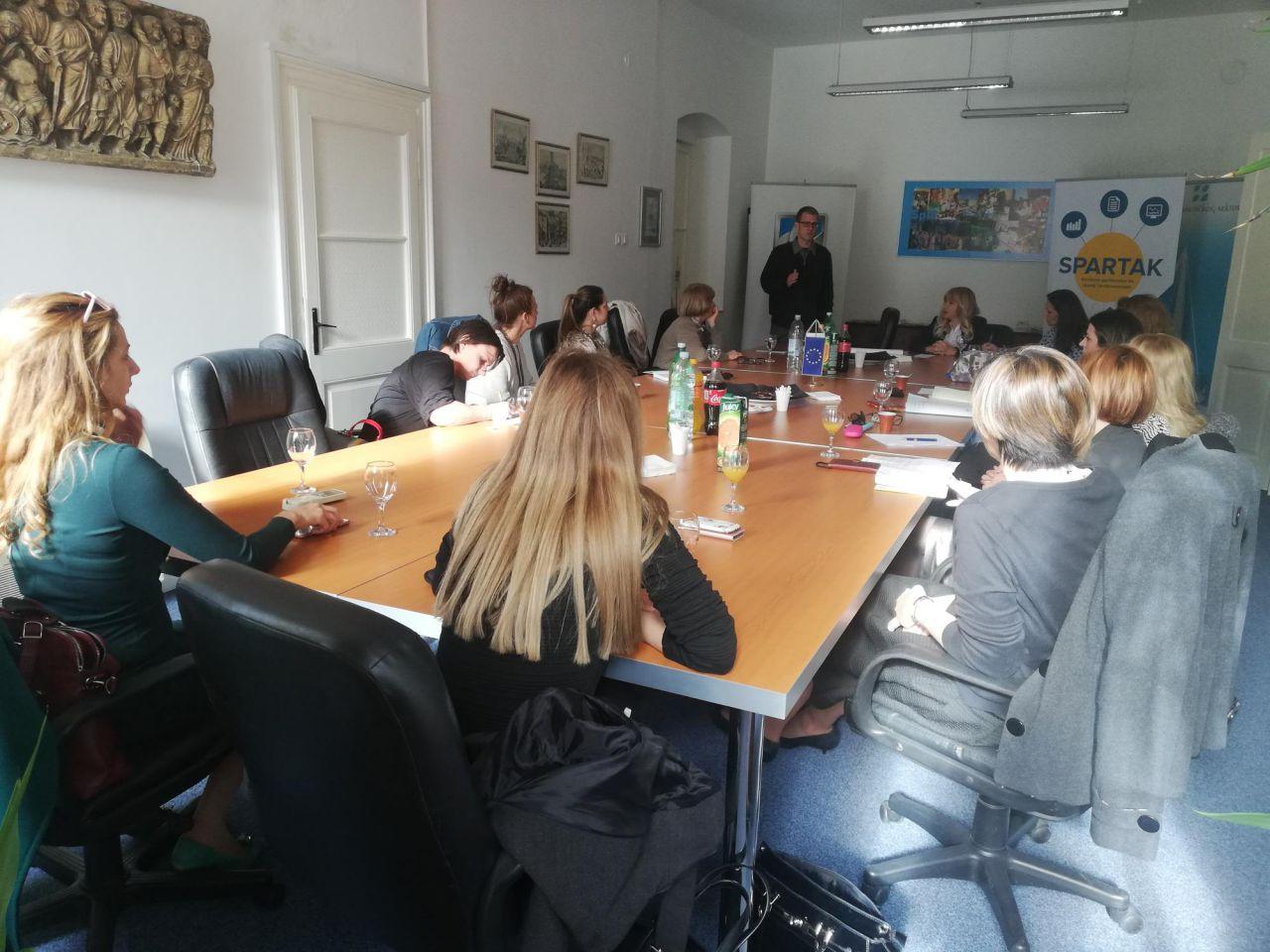 Split - Dva susreta Socijalnog vijeća projekta Spartak
