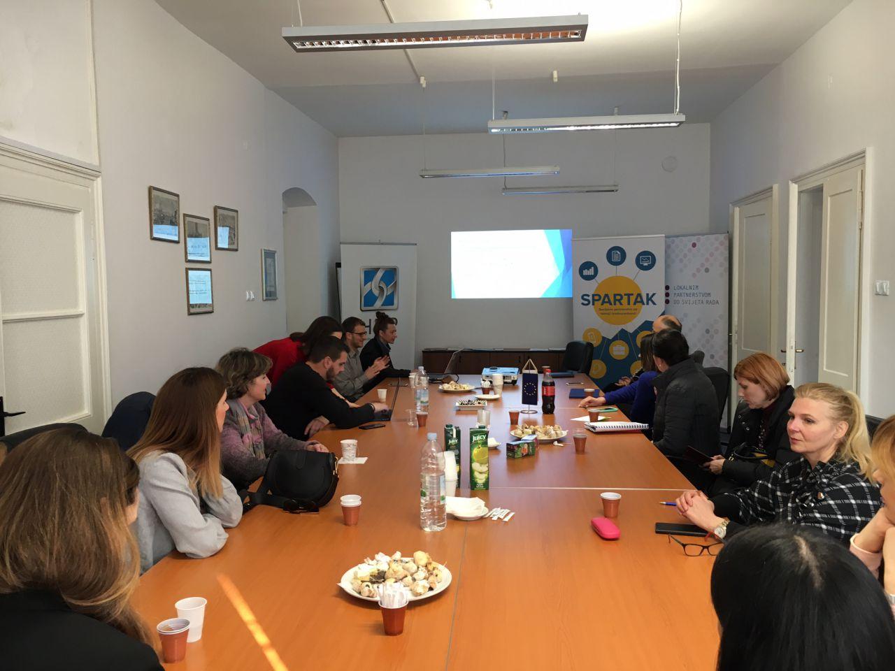 Održan 9. i 10. okrugli stol za uspostavu Socijalnog vijeća u okviru projekta SPARTAK