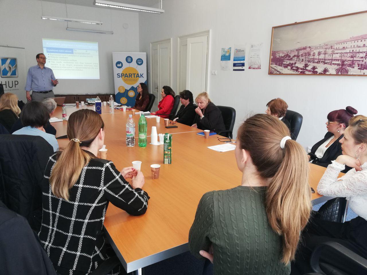 Projekt SPARTAK – Socijalno partnerstvo za razvoj i konkurentnost (UP.04.2.1.03.0028)