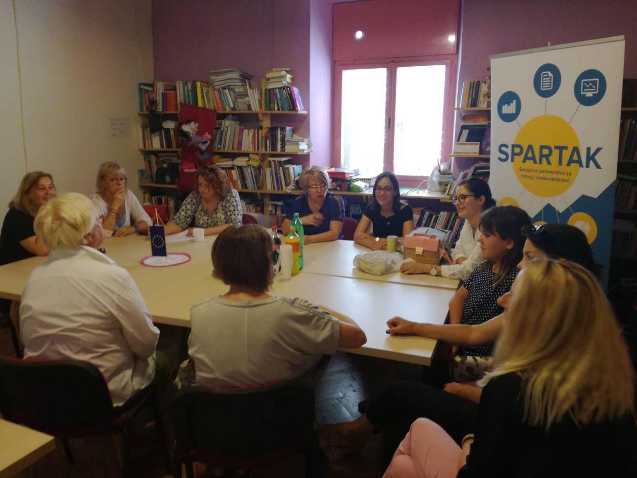"""Rodna ravnopravnost kao osnova socijalnog partnerstva – projekt """"SPARTAK"""""""