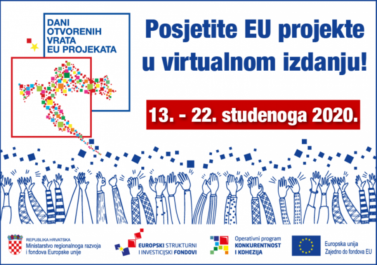 "Virtualni ""Dani otvorenih vrata EU projekata"""