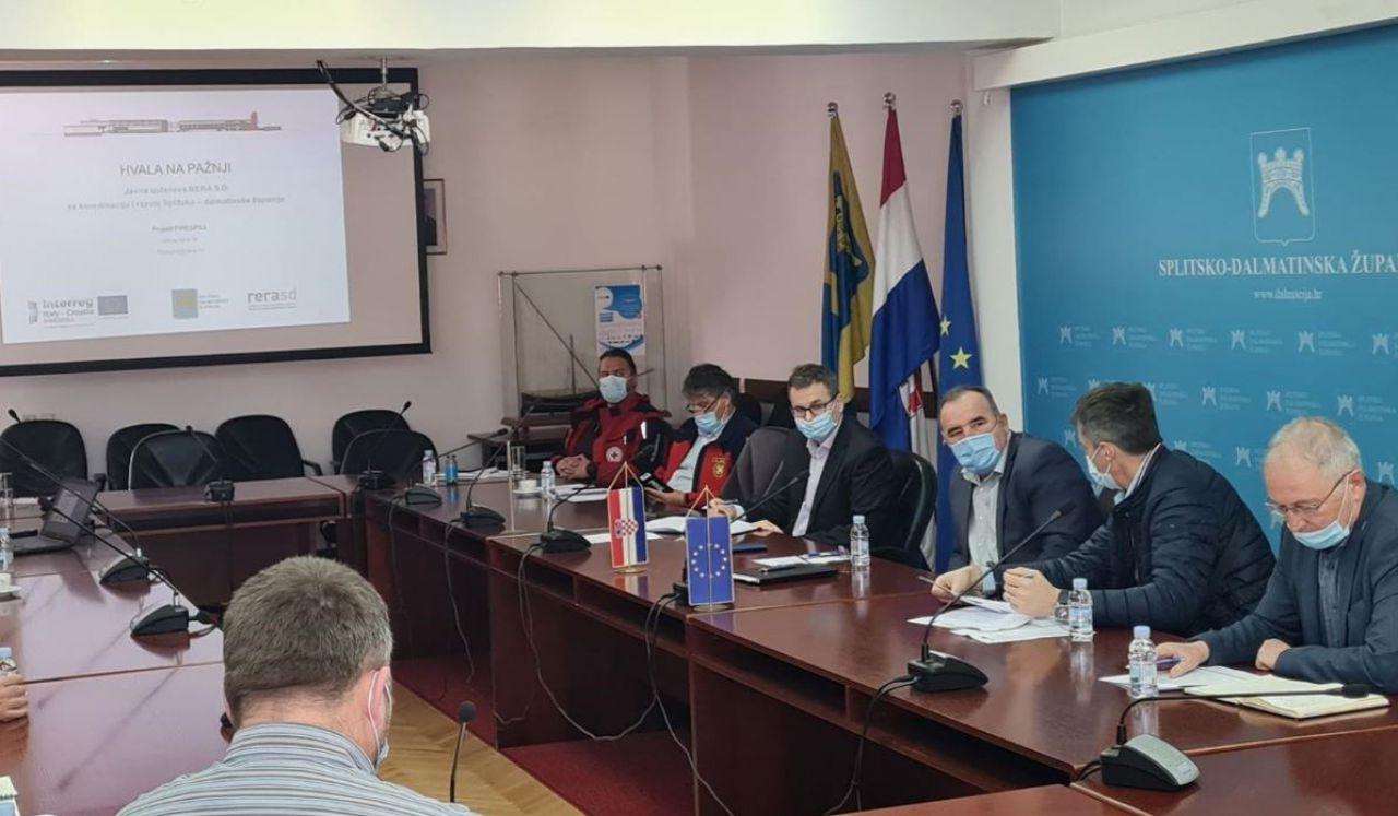 Održana radionica u okviru EU projekta Firespill