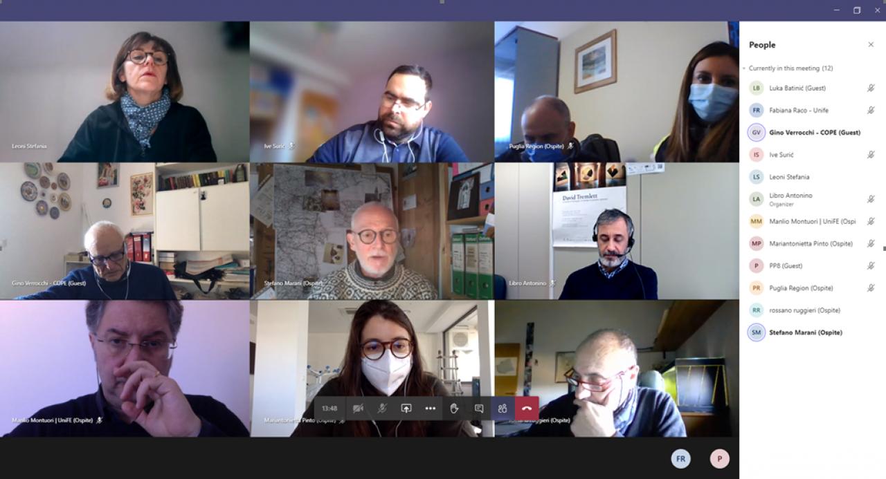 Firespill - sastanak radne skupine za izradu pilot projekta za požare i potrese