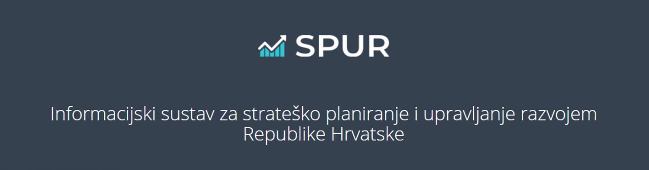 Upis projektnih ideja u Informacijski sustav za strateško planiranje i upravljanje razvojem (SPUR)