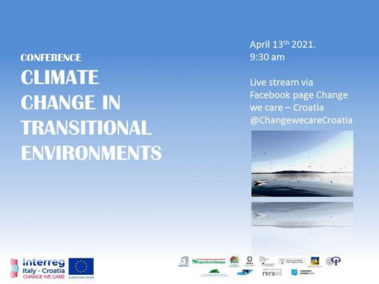 "MID-TERM MEĐUNARODNA KONFERENCIJA ""CLIMATE CHANGE IN TRANSITIONAL ENVIRONMENTS"" projekta CHANGE WE CARE"