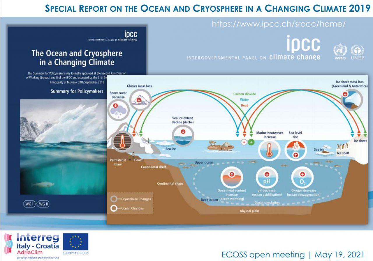 Predstavljanje projekata na sastanku  ECOSS - EKOloški sustav promatranja u Jadranskom moru: oceanografska promatranja biološke raznolikosti