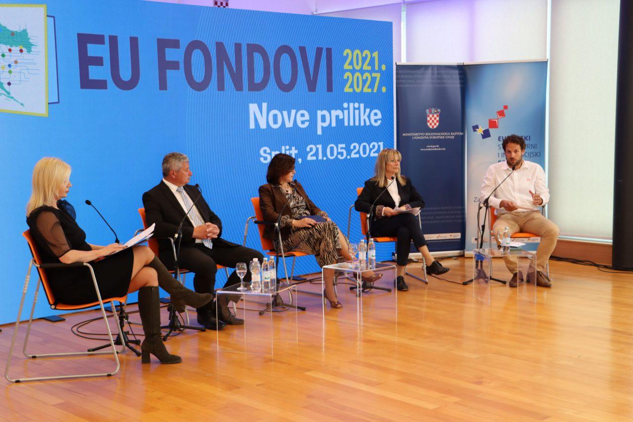 Nove prilike iz EU fondova 2021.-2027. predstavljene u Splitu