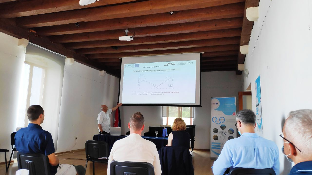 Prva radionica - Plan prilagodbe na klimatske promjene rijeke Jadro i Kaštelanskog zaljeva