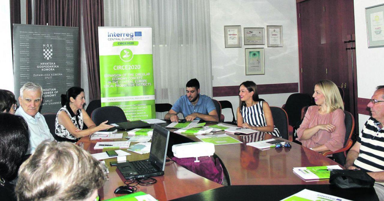 NAJBOLJI EU PROJEKT: Splitsko-dalmatinska županija - Poticanje kružnoga gospodarstva na jadranskoj obali