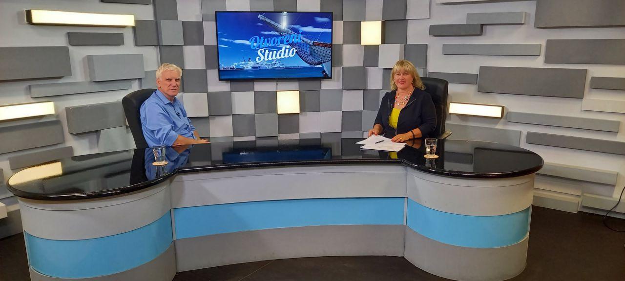 """""""Otvoreni studio"""", TV Dalmacija"""