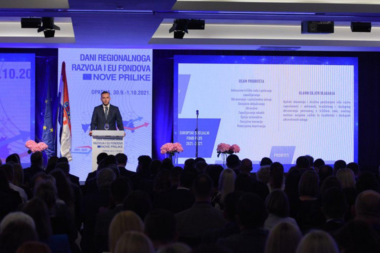 """Dvodnevna hibridna konferencija pod nazivom """"Dani regionalnoga razvoja i EU fondova - Nove prilike"""""""
