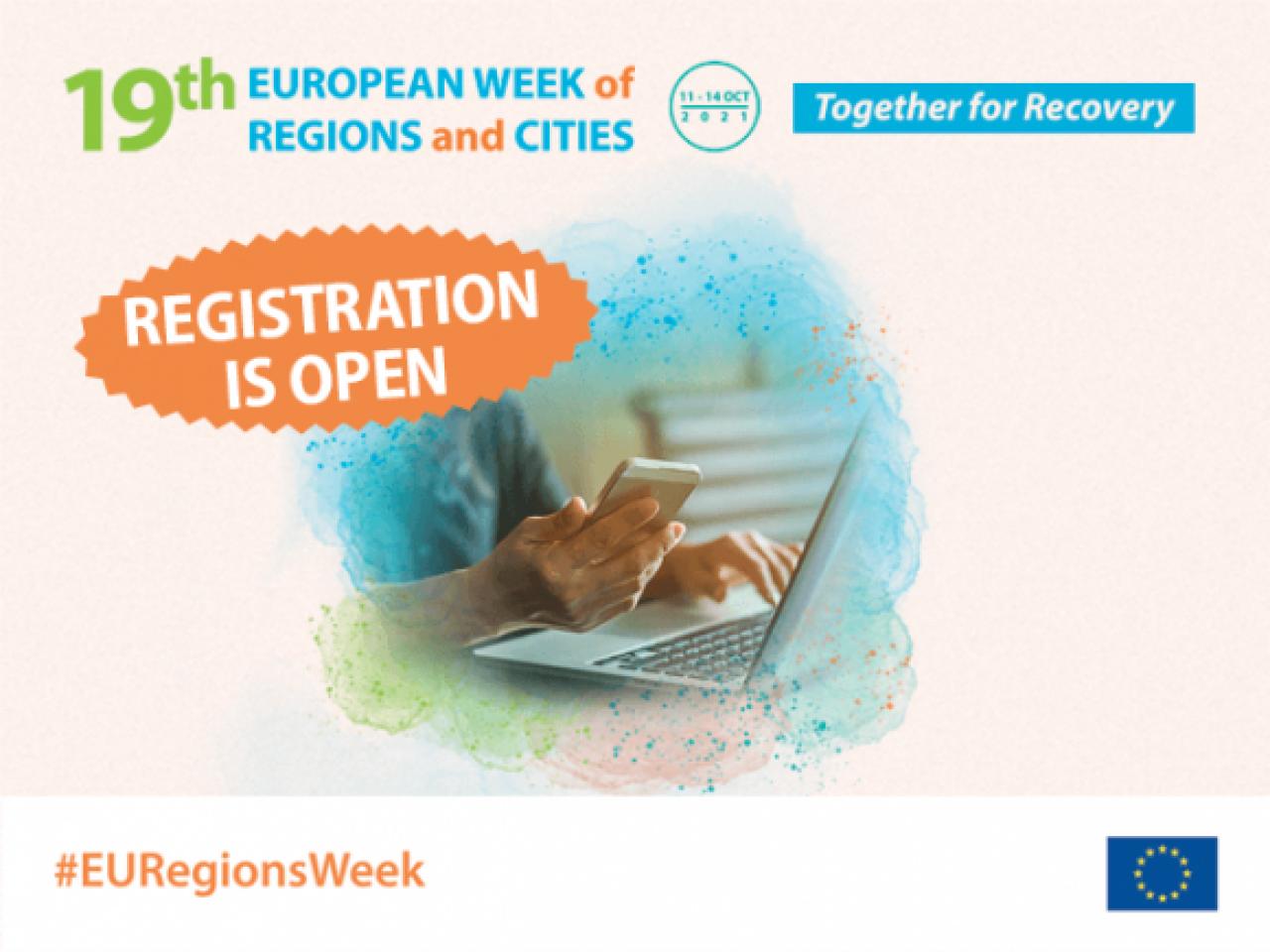 Europski tjedan regija i gradova - prijave u tijeku